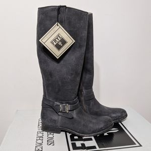 NWT Frye Melissa knotted tall boots